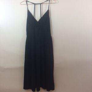 ASOS Black Strappy Back Festival Dress